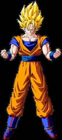 File:Super Saiyan Goku Dragon Ball Z.png
