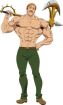 Escanor The Seven Deadly Sins