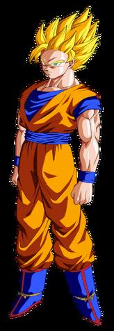 File:Super Saiyan 2 Goku Dragon Ball Z.png