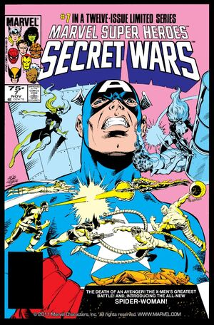 Secret Wars Cover Issue 7