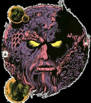 Ego the Living Planet Earth-616 Marvel Comics