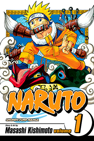 Naruto 1st Manga Cover