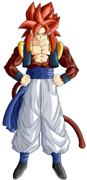 Gogeta Super Saiyan 4 Dragon Ball GT
