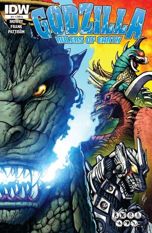 Godzilla Rulers of Earth Issue 1 Cover