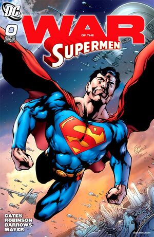 Superman War of the Supermen Issue 0 Cover