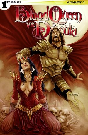 Blood Queen Vs Dracula Issue 1 Cover