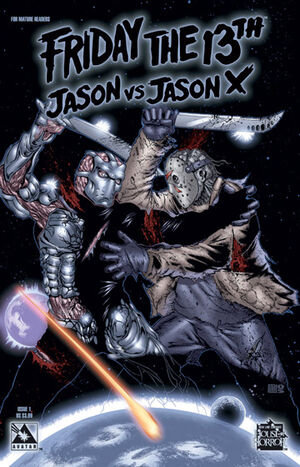 Friday the 13th Jason Vs Jason X Cover 1 Issue