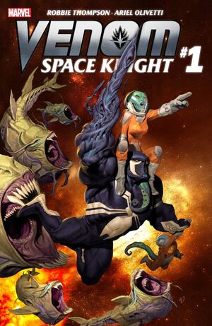 Venom Space Night Cover Issue 1