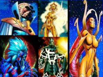 Proemial Gods Marvel Comics