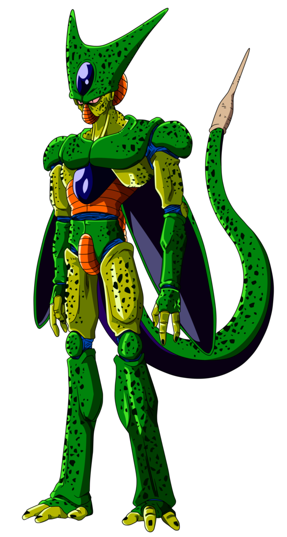 Image - Cell 1st Form Dragon Ball Z.png | Fictional Battle ...