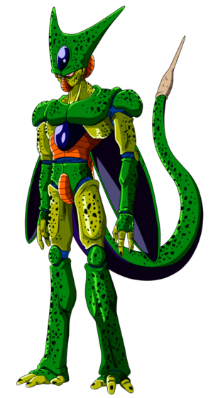 Cell 1st Form Dragon Ball Z