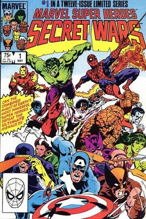 Secret Wars Cover Issue 1