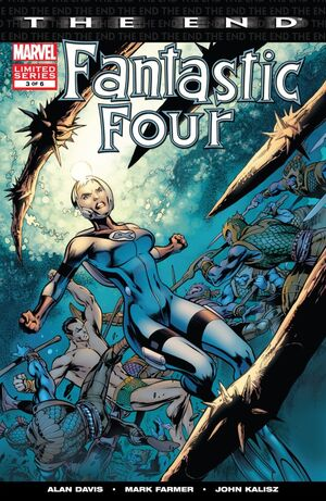 Fantastic Four The End Issue 3 Cover