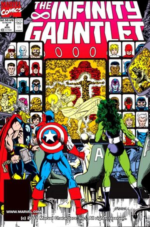 The Infinity Gauntlet Issue 2 Cover