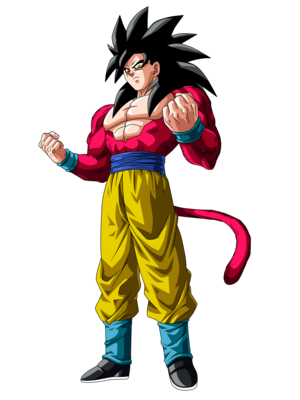 Goku Super Saiyan 4 Dragon Ball GT