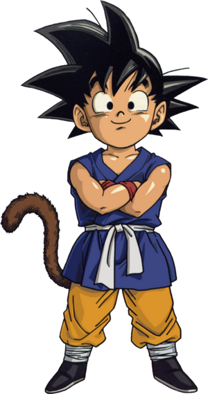 Kid Goku Dragon Ball GT