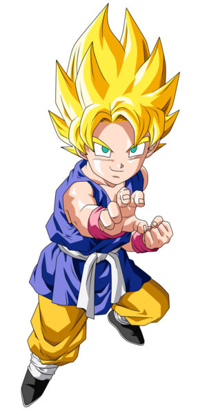 Goku Super Saiyan Dragon Ball GT