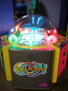 Cyclone arcade game