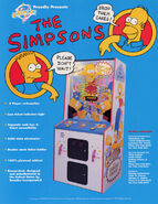 The Simpsons Cupcake Contest arcade game