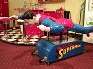 Superman coin-op ride