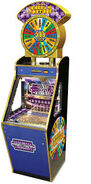 Wheel Of Fortune Coin Pusher