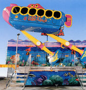 Zamperla Crazy Bus (Crazy Submarine)