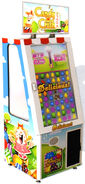 Candy crush saga arcade game (with prize door)