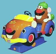 Mr. Potato Head coin-op ride