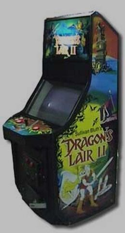 File:Dragon's Lair II arcade game.jpg