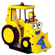 Bob the Builder coin-op ride