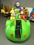 Teletubbies coin-op ride