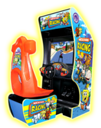Nicktoons Racing arcade game