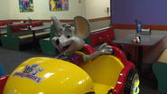 Chuck E. Cheese coin-op car ride (Rockstar)