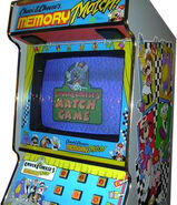 Chuck E. Cheese's Memory Match! arcade game