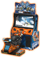 Winter X-Games SnoCross arcade game