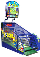 The Simpsons Soccer arcade game