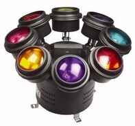 Six head helicopter light