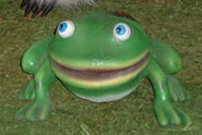 RAE frog animatronic