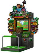 Minecraft arcade game