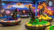 Spin Zone bumper cars ride