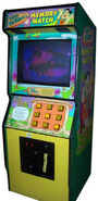 Fred Flinstone's Memory Match arcade game