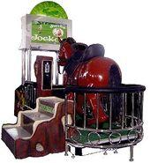 Ken Chuck E Derby arcade game