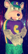 Chuck E. Cheese Cyberamic Animatronic
