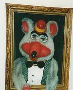 Chuck E. Cheese Portrait Animatronic (1978-1980)