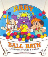 Chuck E. Cheese's Baby Ball Bath