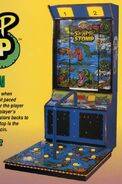 Swamp Stomp arcade game
