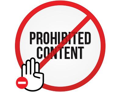 ProhibitedContent