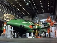 Thunderbird 2 in hanger