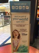 Madison, NC Disney Store TEMPORARILY CLOSING sign