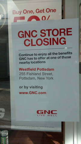 File:Canton, NY GNC closing sign.png